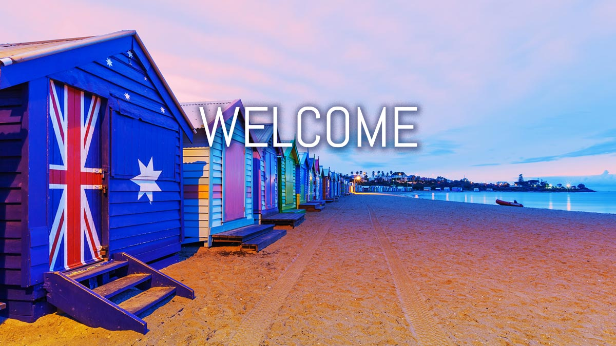 Welcome - Melbourne