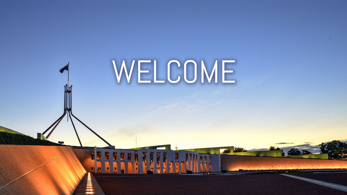 Welcome - Canberra